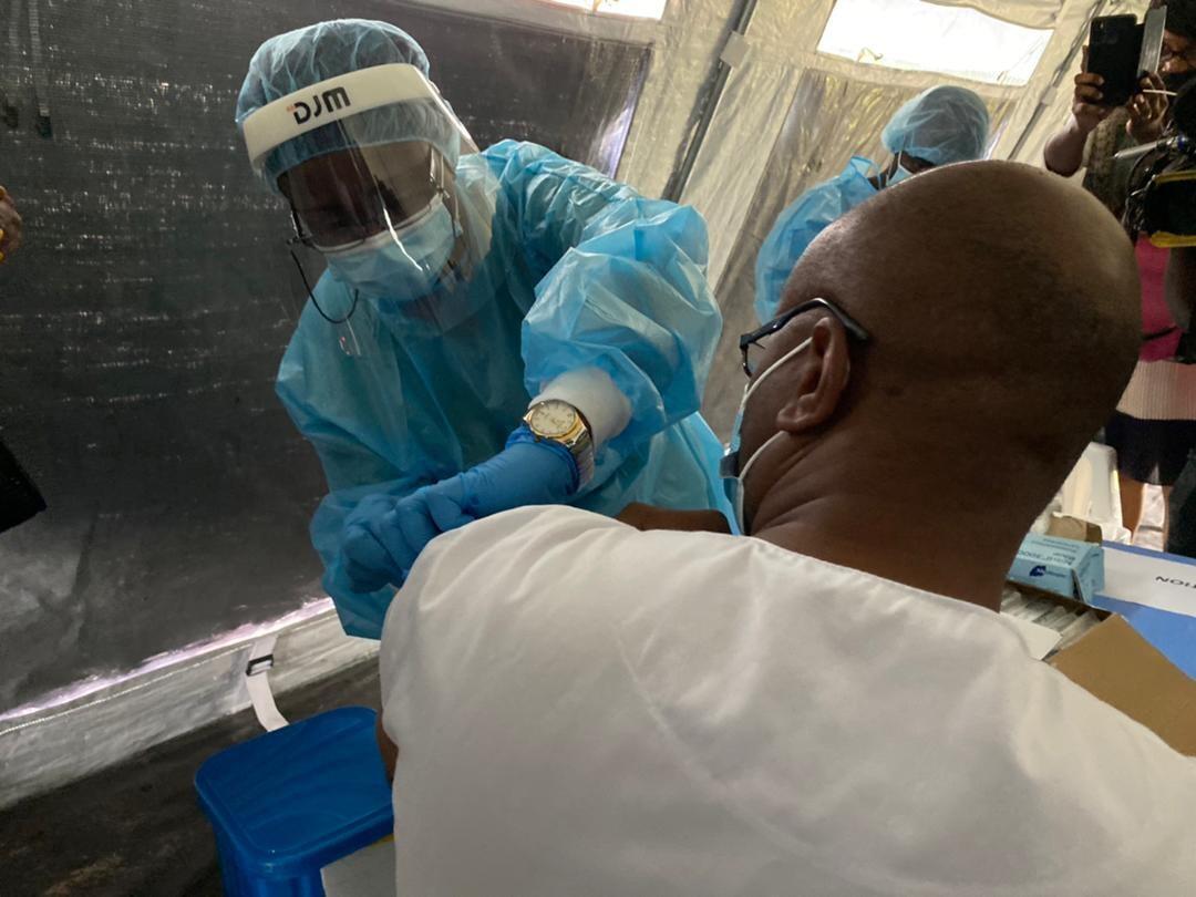 La RDC a lancé sa campagne de vaccination contre le Covid-19 avec l'AstraZeneca le 19 avril 2021.