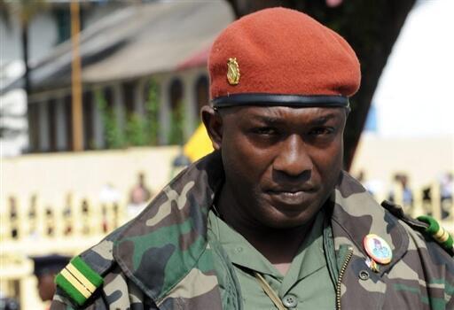 Toumba Diakité, l'aide de camp de Dadis.