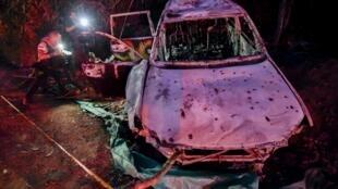 La voiture de la candidate Karina Garcia a été retrouvée lundi 2 septembre criblé de balles dans le département de la Cauca.