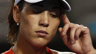 Third seed Garbine Muguruza was one of the favourites for the Australian Open title.