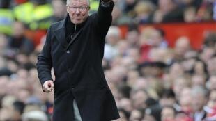 Alex Ferguson, coach de Manchester United.
