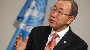 Katibu Mkuu wa Umoja wa Mataifa UN, Ban Ki-moon