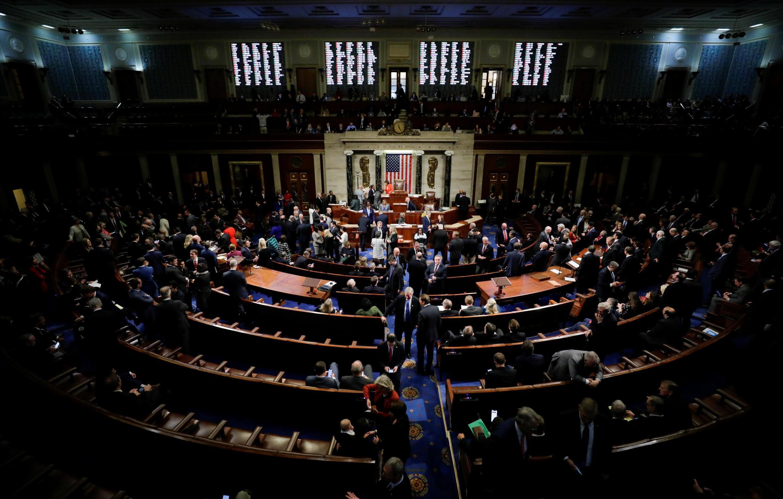 La Chambre des représentants à Washington, le jeudi 31 octobre 2019.