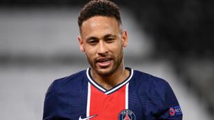 El brasileño Neymar, durante el partido de la Liga de Campeones entre el PSG y el Bayern de Múnich disputado el 13 de abril de 2021 en París