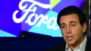 Mark Fields, el director ejecutivo de Ford, el pasado 15 de noviembre de 2016 en Los Ángeles.
