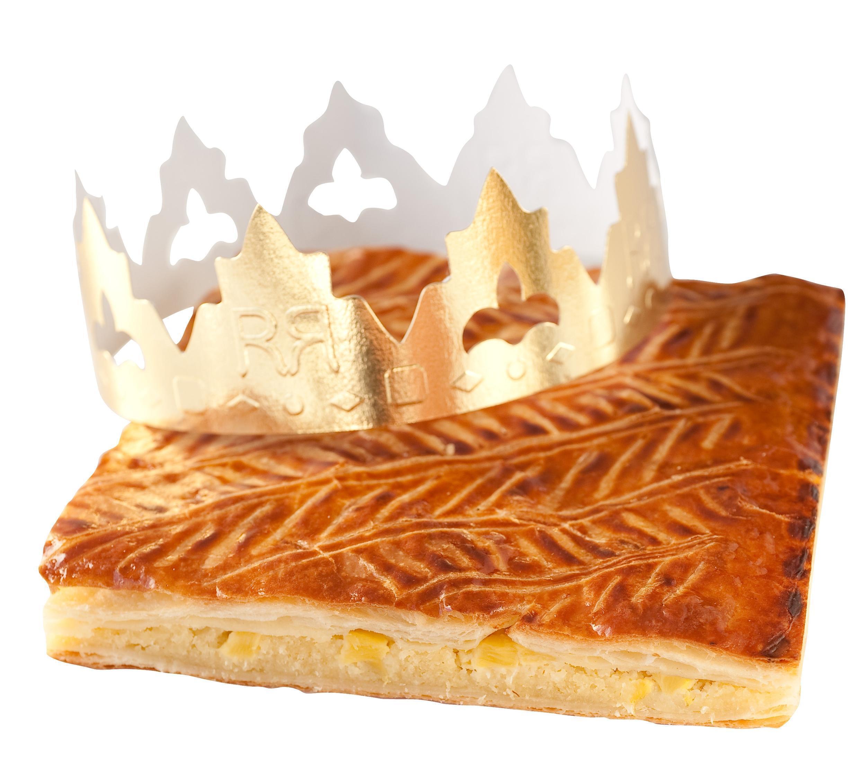 """К королевской галете всегда положена корона для """"короля на час"""""""