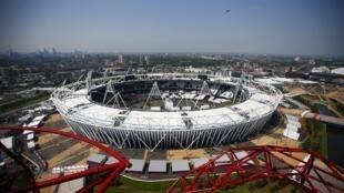 O Estádio Olímpico de Londres que irá sediar a cerimônia de abertura das Olimpíadas.