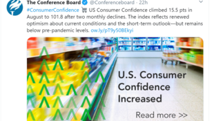 US consumer confidence increased