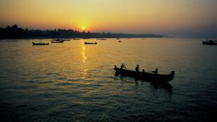 Pêcheurs dans l'Etat du Kérala, Inde.
