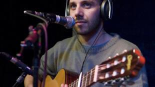 Ousman Danedjo au studio 136