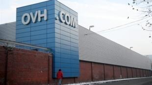 Les locaux de l'hébergeur français OVH à Roubaix, le 3 décembre 2010.