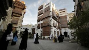 Tsakiyar birnin Jeddah na kasar Saudiya