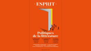 Revue Esprit - Politiques de la littérature - juillet 2021 - Une semaine d'actualité