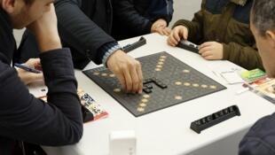 Partie de Scrabble.