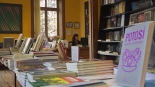 La Plural, une librairie située dans le quartier de Sopocachi, à La Paz, en Bolivie.