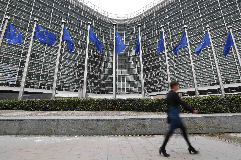 El edificio Berlaymont, sede de la Comisión Europea, en Bruselas.