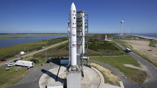 Phi thuyền LADEE được phóng từ trung tâm không gian Wallops (www.nasa.gov)