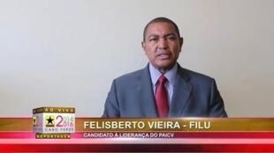 Imagem no mural Facebook de Felisberto Vieira, durante a campanha 2014 para Presidente do PAICV