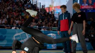 El breaking, una de las disciplinas que debutan en los Juegos Olímpicos de la Juventud. Se divide en la categoría B-Boys y B-Girls.