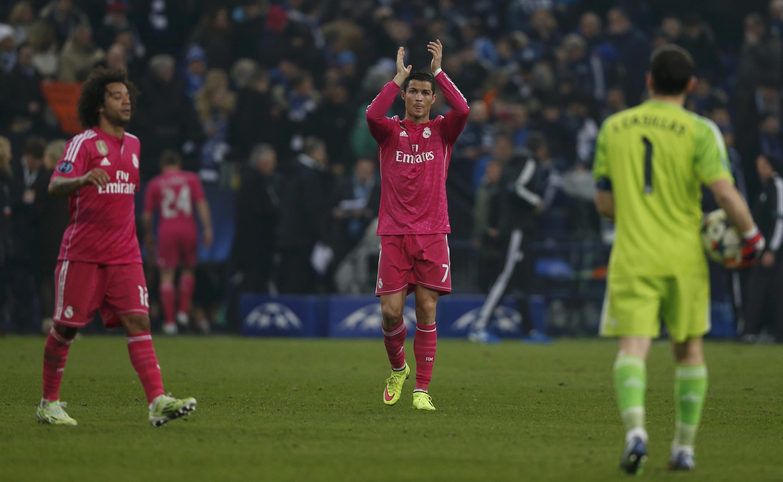 Marcelo, à esquerda, do Real Madrid.