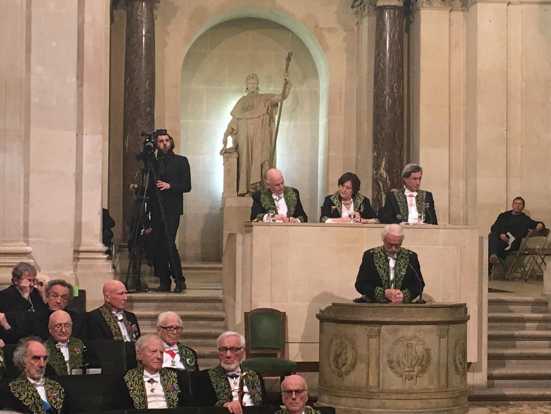 Fotógrafo francês Yann Arthus-Bertrand discursou em homenagem a Sebatião Salgado.