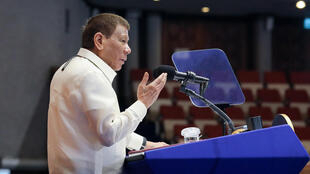 Philippine President Rodrigo Duterte has banned his cabinet from speaking out in public on the South China Sea dispute