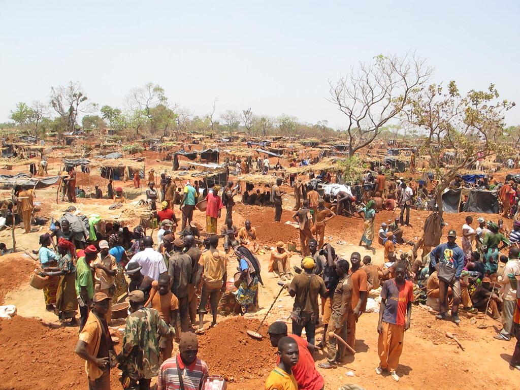 Le site de Koflatié se trouve dans le cercle de Kangaba, près de la frontière guinéenne, à environ 140 kilomètres de Bamako.