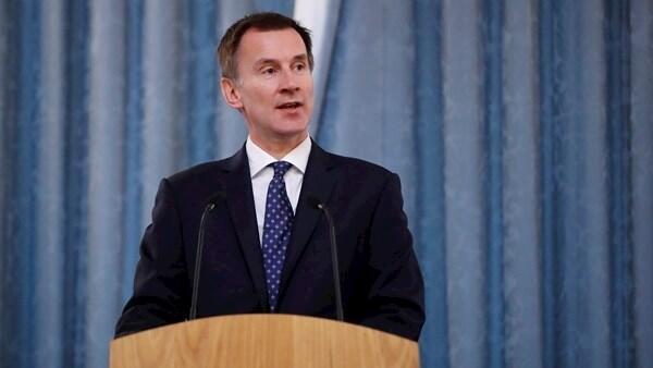 英國外交大臣傑里米-亨特