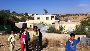 Le village bédouin d'Umm al Hiran, dans le sud d'Israël, mai 2015.
