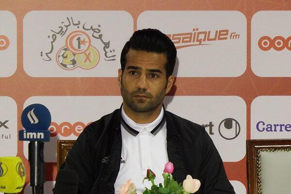 مسعود شجاعی در نشست خبری پیش از برگزاری بازی ایران و تونس