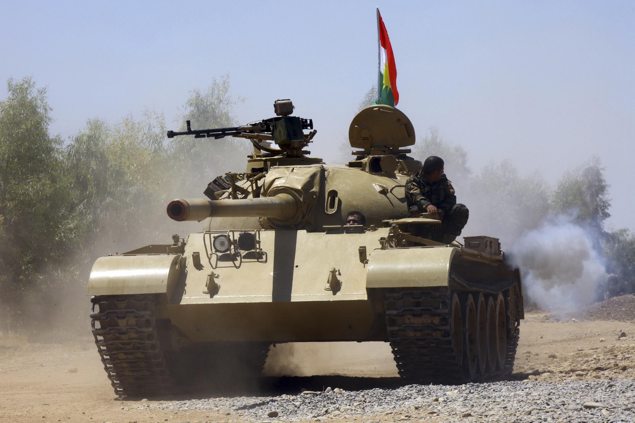 """Курдская армия переходит в контрнаступление против сил боевиков """"Исламского государства"""" 7 августа"""