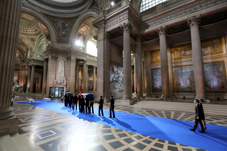 Los restos de Simone Veil y de su esposo reposarán en la cripta del Panteón a partir de este lunes.