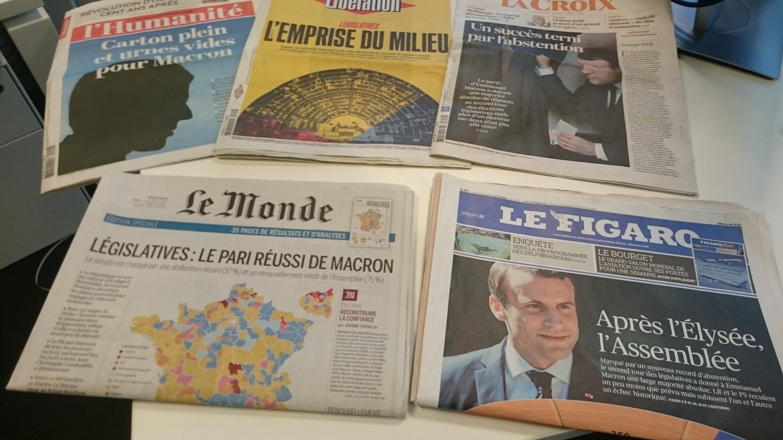 Diários franceses 19.06.2017