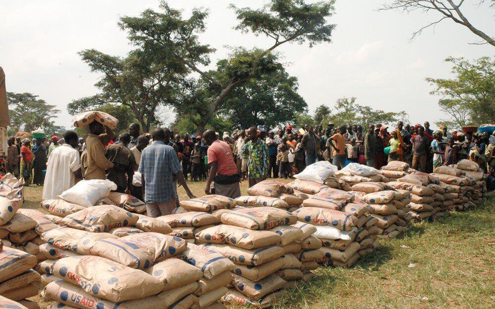 Le camp de réfugiés congolais de Rwamwamja en Ouganda.