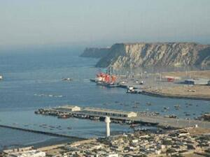 巴基斯坦瓜達爾港口遠眺