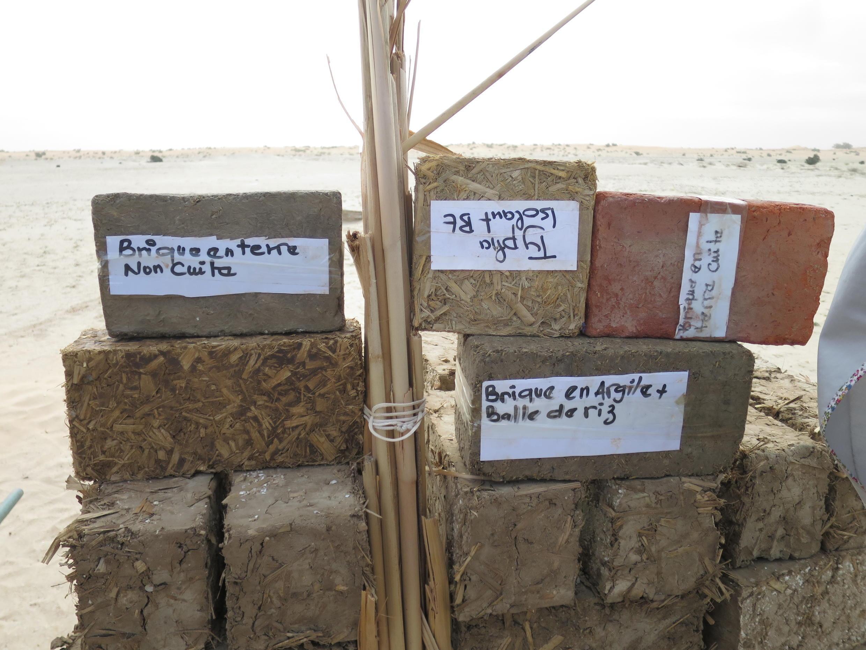 Les matéraux traditionnels peuvent aussi être utilisés pour protéger des infrastructures.