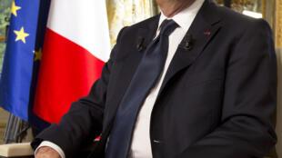 O presidente francês François Hollande, Prémio para a Paz da UNESCO - 05/06/13