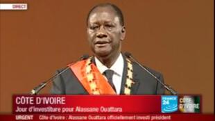 Discours d'investiture d'Alassane Ouattara, le 21 mai 2011