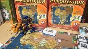 Le jeu de société «Afriqu'enjeux», créé par Paulette Mpouma.