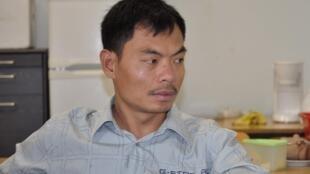 Van Dat Le est l'un des Vietnamiens envoyés en ex-RDA pour travailler.