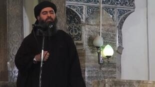 ابوبکر البغدادی فرماندهی گروه تروریستی دولت اسلامی (داعش)