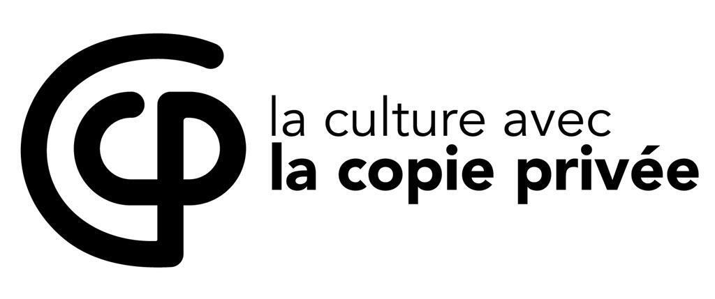 Le logo de La Culture avec la Copie Privée.
