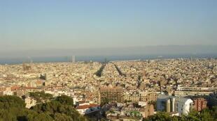 Les Espagnols investissent à nouveau dans l'immobilier. (Photo: vue de Barcelone).