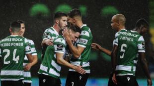 O Sporting CP lidera o campeonato português de futebol.