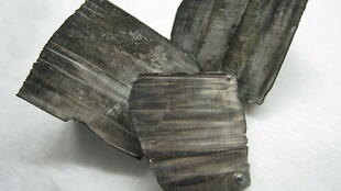 Des échantillons de lithium métallique.