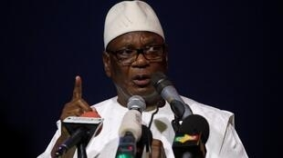 Rais wa Mali, Ibrahim Boubacar Keita.