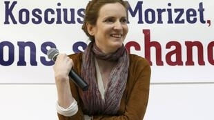 Paris mayor hopeful Nathalie Kosciusko-Morizet