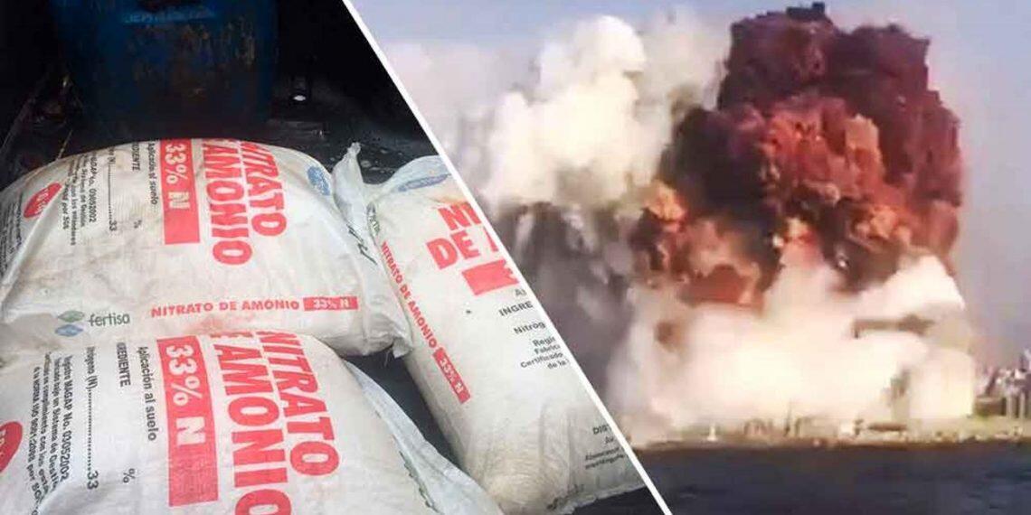 Moçambique nega que as 2.750 toneladas de nitrato de amônio que explodiram no porto de Beirute tinham como destino final o porto da Beira.