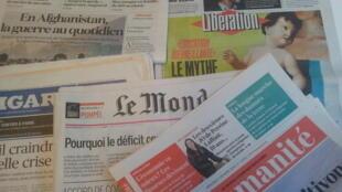 Primeiras páginas dos jornais franceses de 7 de fevereiro de 2018
