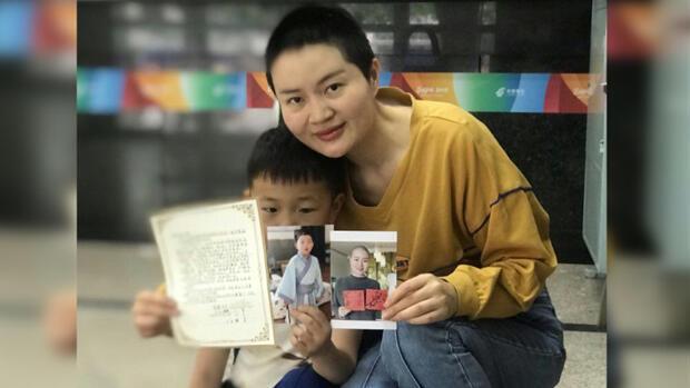 維權律師王全璋的妻子李文足
